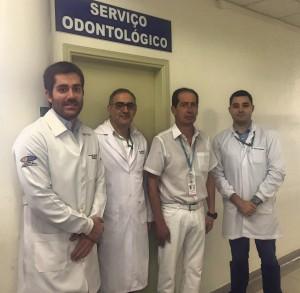 Equipe do Serviço Odontológico do HCFMB Arquivo Pessoal