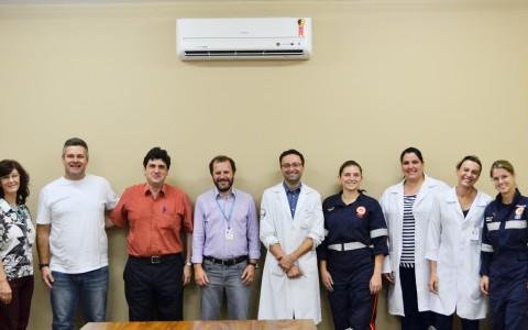Hospital das Clínicas, Samu e Prefeitura viabilizam novos procedimentos para aprimorar o atendimento à população