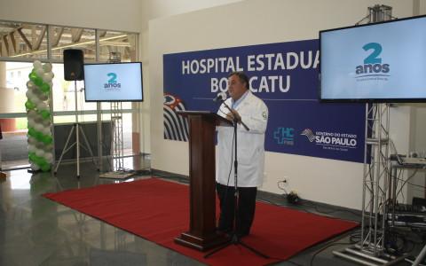 Hospital Estadual comemora dois anos com alto nível de aceitação